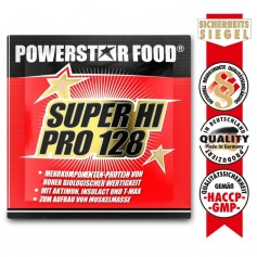 SUPER HI PRO 128 - Mehrkomponenten Protein Pulver - 30g Probe Beutel