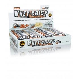 WHEY CRISP PROTEIN BAR - Boîte de 24 barres de 50 g