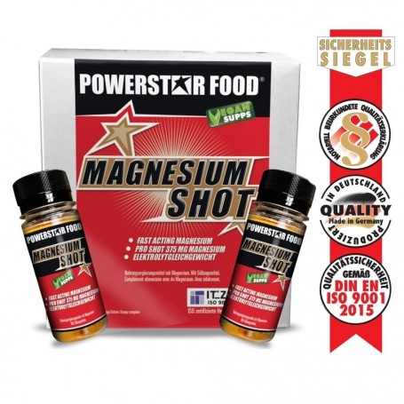 MAGNESIUM SHOT - 12 Fläschchen à 60 ml