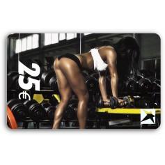 Gutscheincard Woman - 25 EUR