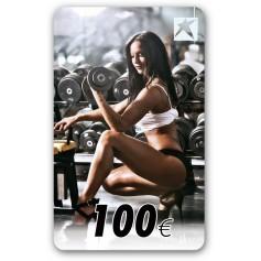Gutscheincard Girl 100 EUR
