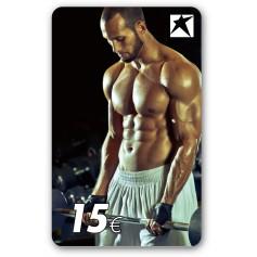 Gutscheincard Man - 15 EUR