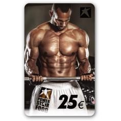Gutscheincard Man - 25 EUR