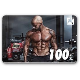 CARTE-CADEAU AVEC MOTIF HOMME 100 EUR