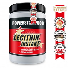LECITHIN INSTANT - Soja Lecithin Pulver - 500 g