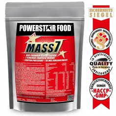 MASS 7 - Premium Weight Gainer für Softgainer - 1610 g