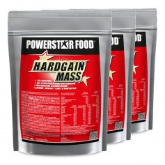 HARDGAIN MASS - Weight Gainer Shake - 3 x 1600 g