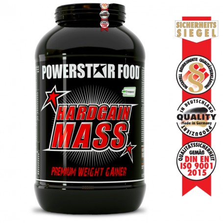 HARDGAIN MASS 2.0 - Weight Gainer Shake - 3.600 g