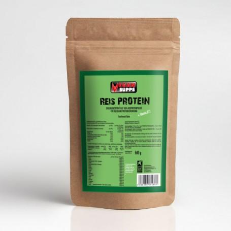rice-pure-protein-végétalienne-riz-nutrition sportive-construction musculaire