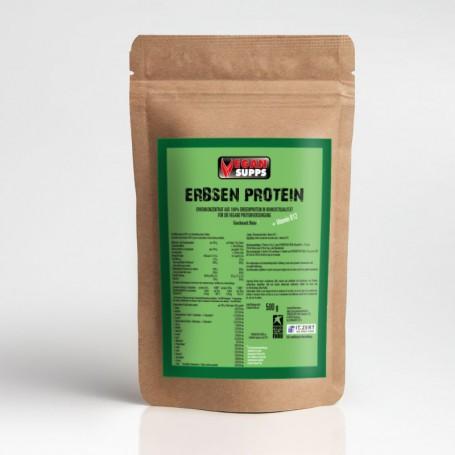 pea-pure-protein-isolat de la protéine de petit pois-végétalienne-construction musculaire