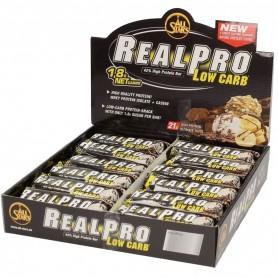 REALPRO LOW CARB -Boîte de 24 barres de 50 g