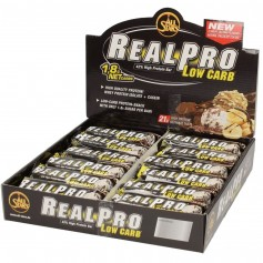 REALPRO LOW CARB - 24 Riegel à 50 g