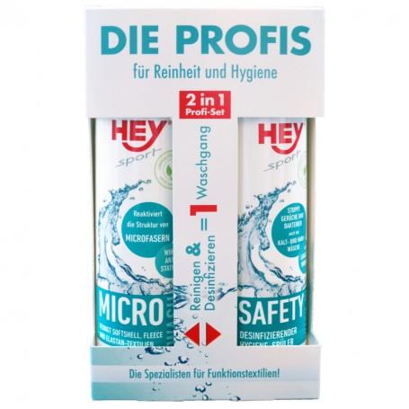 HEY SPORT - Micro W. & Safety Wash-In Set  - 2 x 250 ml
