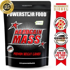 HARDGAIN MASS 2.0 - Premium Weight Gainer Shake - 1600 g