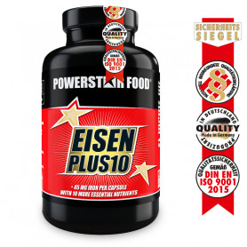 EISEN PLUS 10 von Powerstar Food