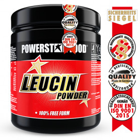 LEUCIN POWDER - L-Leucin Pulver - 500g Orange - Powerstar Food