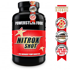 NITROX SHOT - Pre Workout Pump Booster - 200 Kapseln