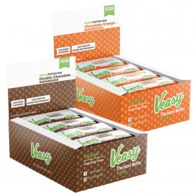 VEASY PROTEIN BAR - 12 x 65 g vegane Protein Riegel