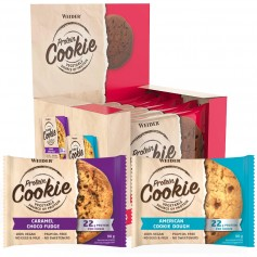 PROTEINE COOKIE - 12 Cookies à 90 g