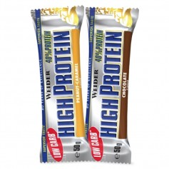 LOW CARB HIGH PROTEIN BAR 40% - 50 g Riegel