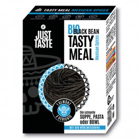 BIO BLACK BEAN TASTY MEAL - Mexican Spices - 53g - Just Taste