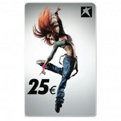 Gutscheincard Girl 25 EUR