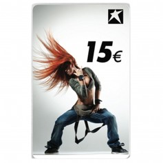 Gutscheincard Girl 15 EUR