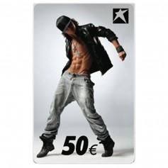 Gutscheincard Boy 50 EUR