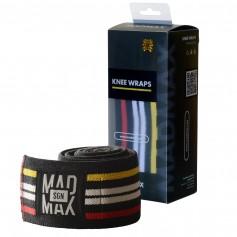BANDAGES DU GENOU - Madmax -  Bandages de genou pour les squats et presse à jambes