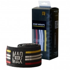 MAD MAX KNEE WRAPS - Kniebandagen für Kniebeugen & Beinpresse