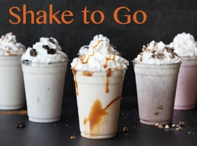 Shake to go