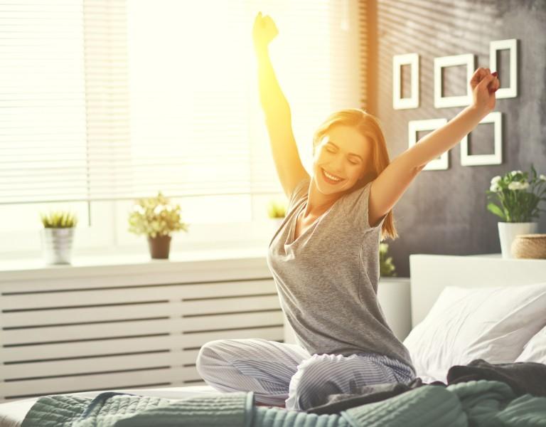 Im Schlaf Muskeln aufbauen & Fett verbrennen