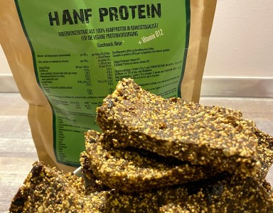 Rezept: DIY-Hanfprotein-Riegel